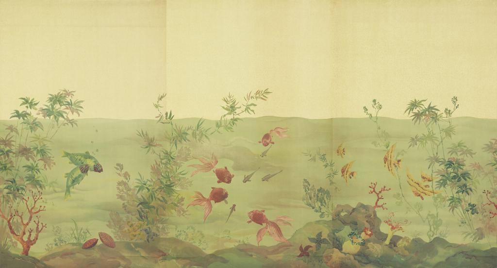 underwater wall paper