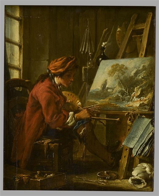 Designing a paintercooper hewitt smithsonian design for Boucher peintre