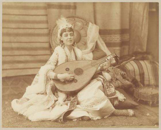 Sarah in costume (and smiling!), Vanderbilt Ball, 1883