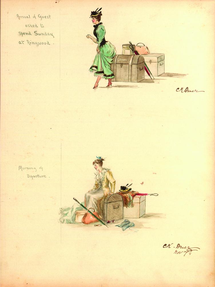 Illustration, 1891-1902