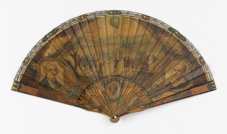 Brisé fan, France, late 19th century