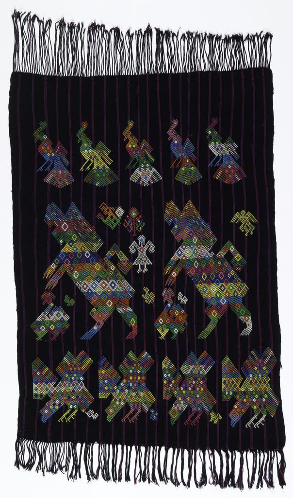 Tzute (man's Head Cloth) (Guatemala), 1960s