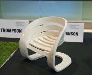 Prototype of winner of #ThinkOutside Student Design Challenge